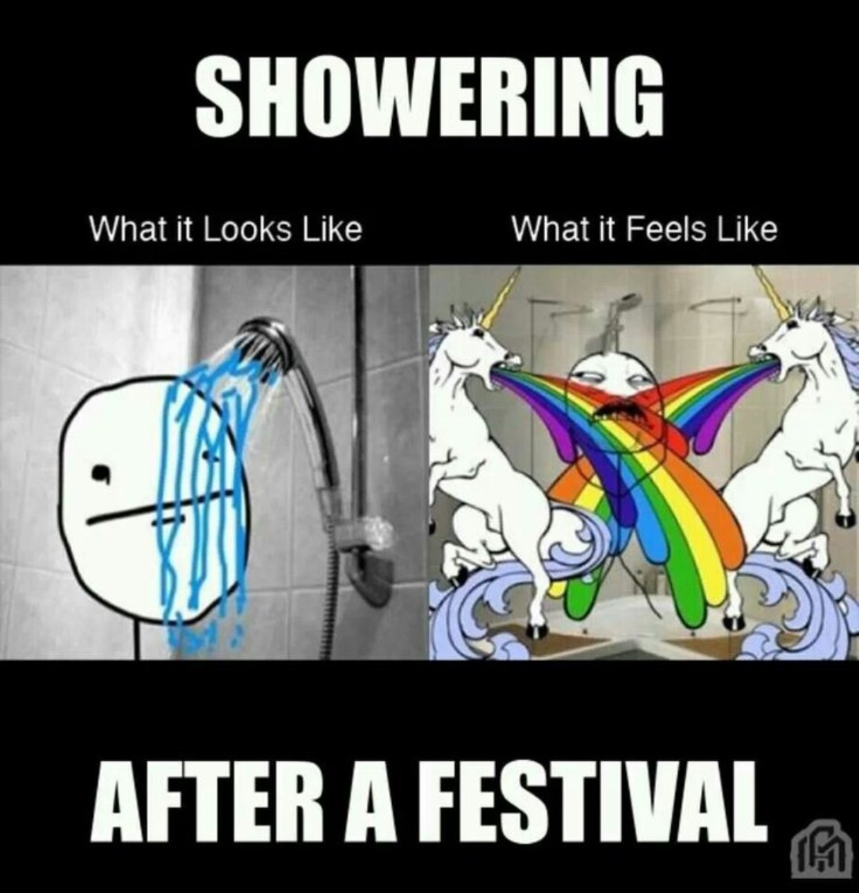 After festival