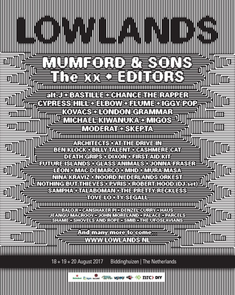 Lowlands 2017 Poster